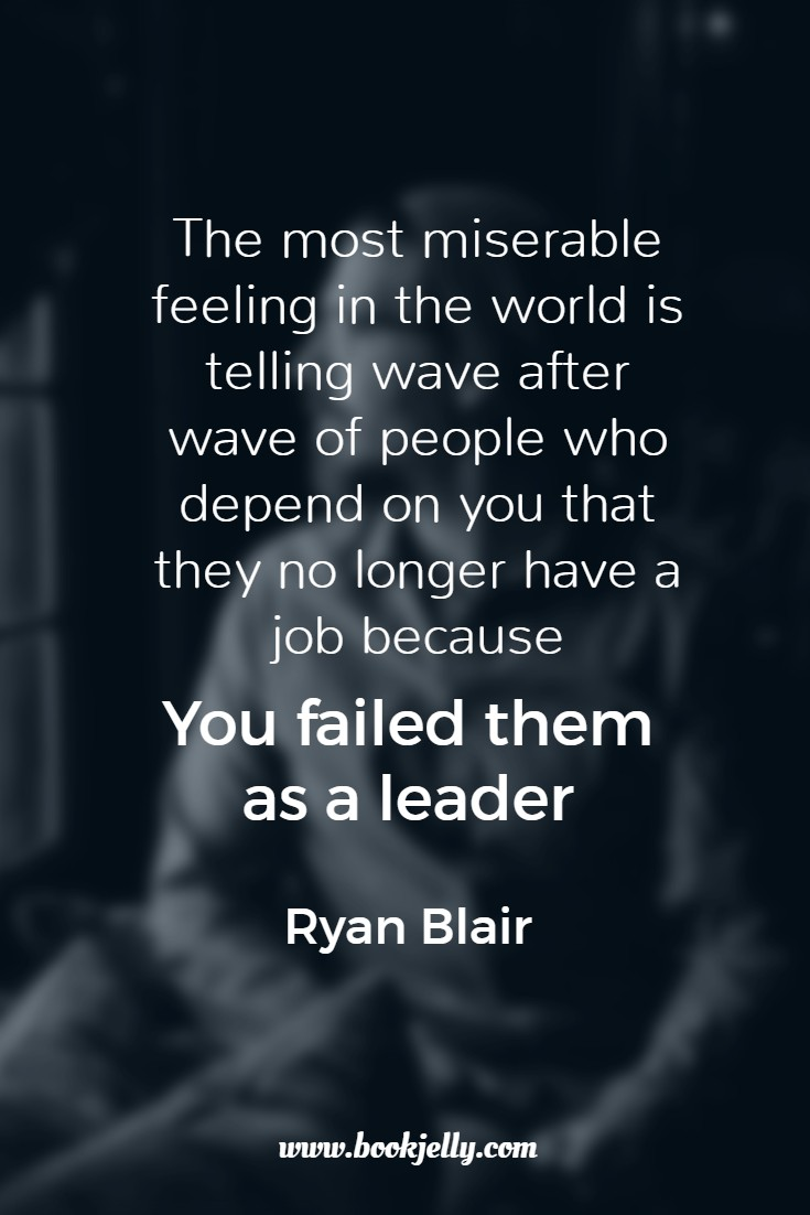 When you fail people as a leader