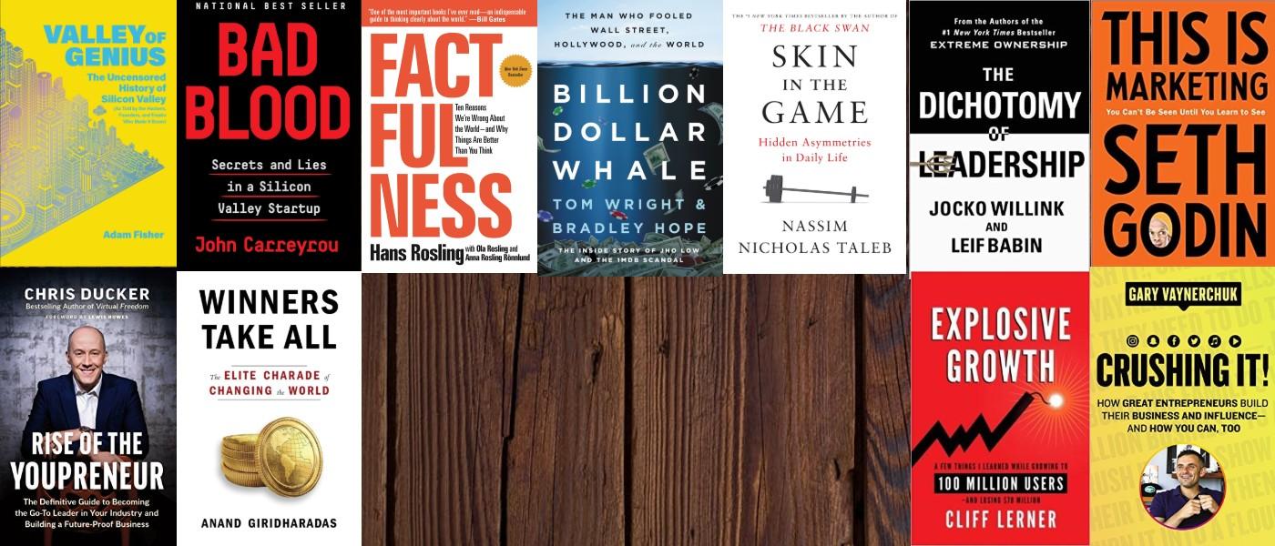 Best Business Books 2018