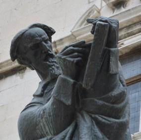 Best literary destinations in Croatia - statue made by Ivan Meštrović