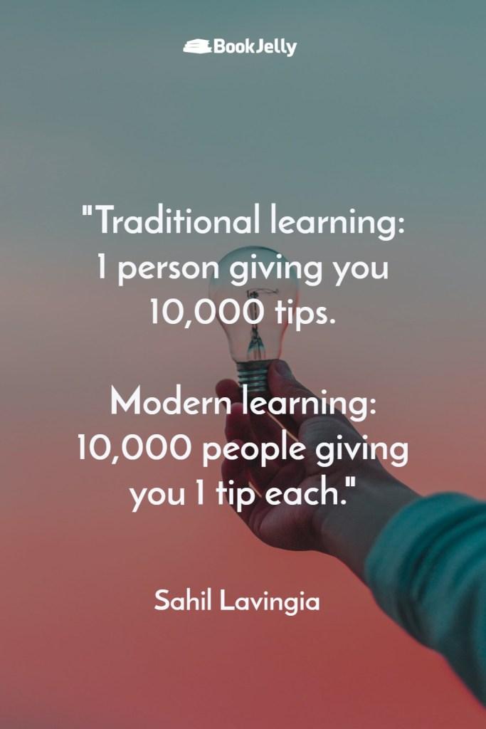Pearls of Wisdom - Sahil Lavingia