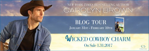 wicked cowboy charm banner