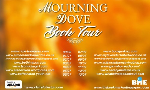 mourning dove tour graphic