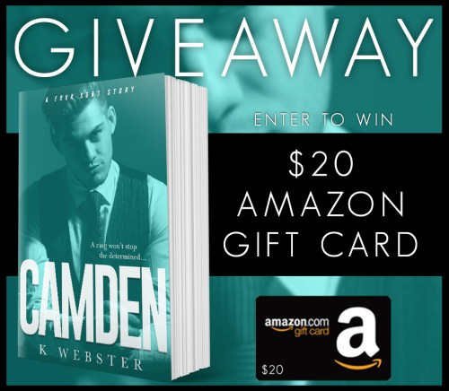 Camden Giveaway graphic
