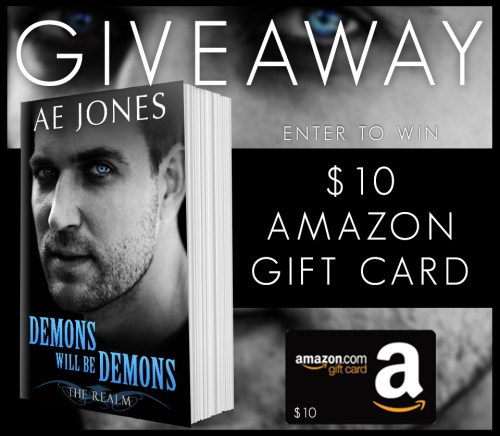 Demons Will Be Demons Giveaway