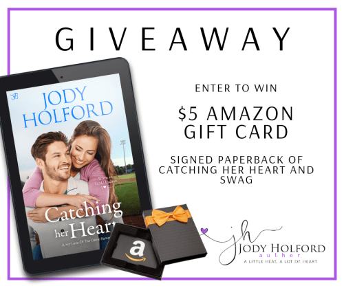 Catching Her Heart giveaway banner