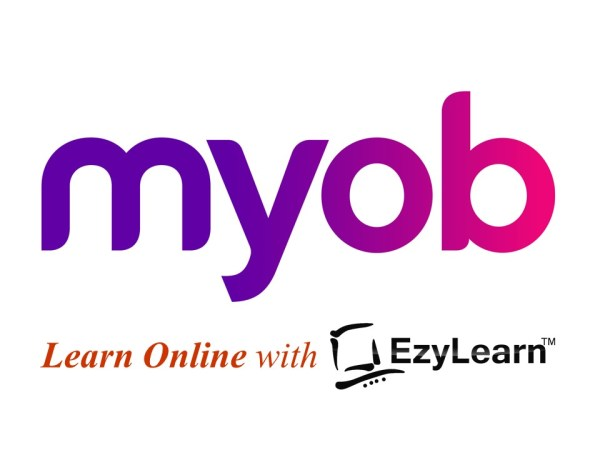 EzyLearn Online MYOB Training Courses logo - training & student support