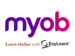 EzyLearn Online MYOB Training Courses logo - training & student support
