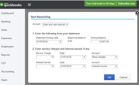 Intuit-QuickBooks-Online-Bank-Reconciliation-Journal-Entries-Training-Course-Screenshot-1