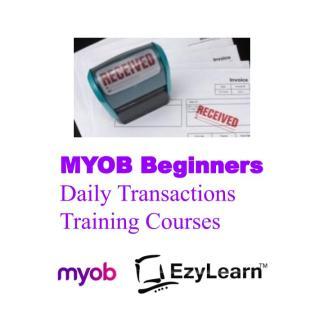 MYOB Beginners Training Course Accounts Receivable Accounts Payable & Data Entry - EzyLearn