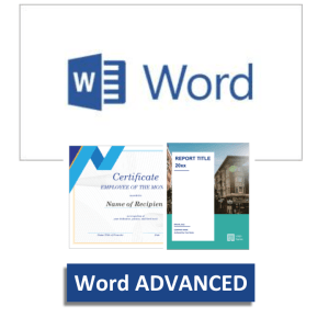 Microsoft Word Advanced Training Courses - Create reports, long complex documents & brochures - EzyLearn