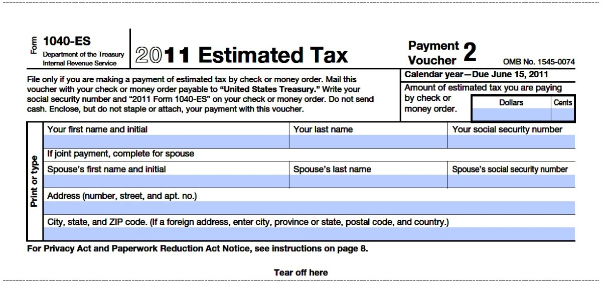How To Pay Your Irs 1040es Estimated Taxes The Ultimate Bookkeeper