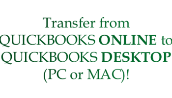 QuickBooks Online: Remote Support, Training, Set-Up &/or