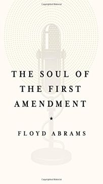 Nonfiction Book Review: The Soul of the First Amendment