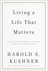 Nonfiction Book Review: LIVING A LIFE THAT MATTERS
