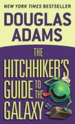 Title; The Hitchhiker's Guide to the Galaxy by Douglas Adams