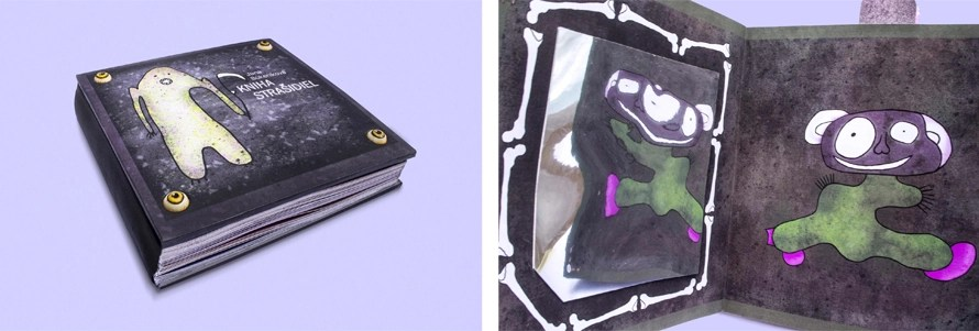 Book of Spooks and Jelly Monster