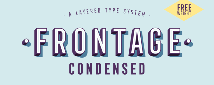 Typographic inspiration from Myfonts.com