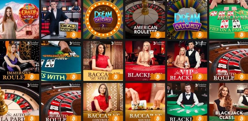 Живые игры в казино FastPay