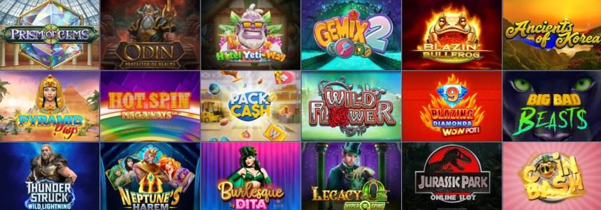 Видеослоты в казино Evobet
