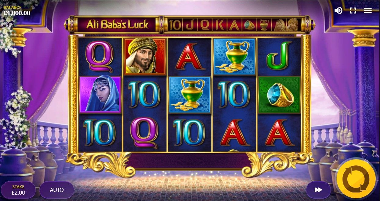 Ali Baba's Luck Megaways от Max Win