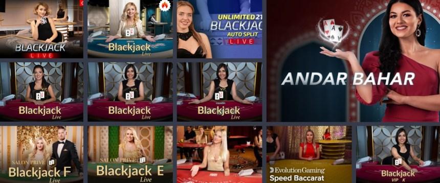 Живые игры в казино MrLuck