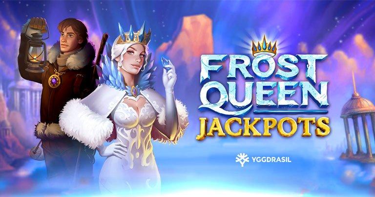 Первая новинка года от Yggdrasil - Frost Queen Jackpots