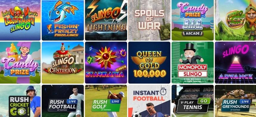 Другие игры в казино Betsson