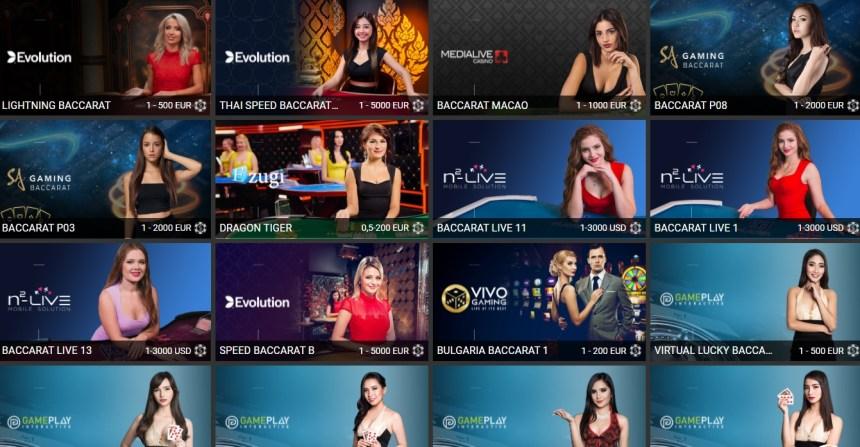 Настольные игры в казино «Фан-Спорт»