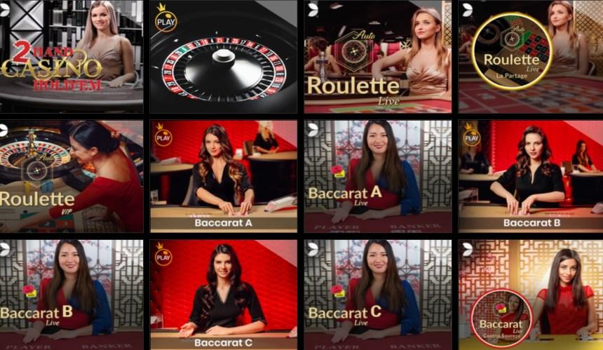 Живые игры в казино b-Bets
