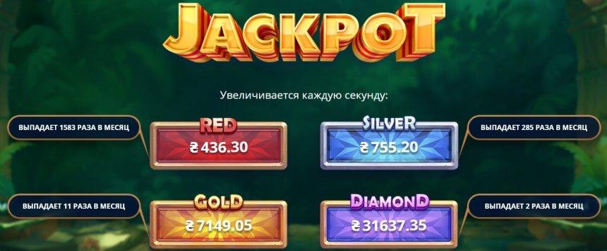 Джекпот в Netgame Casino