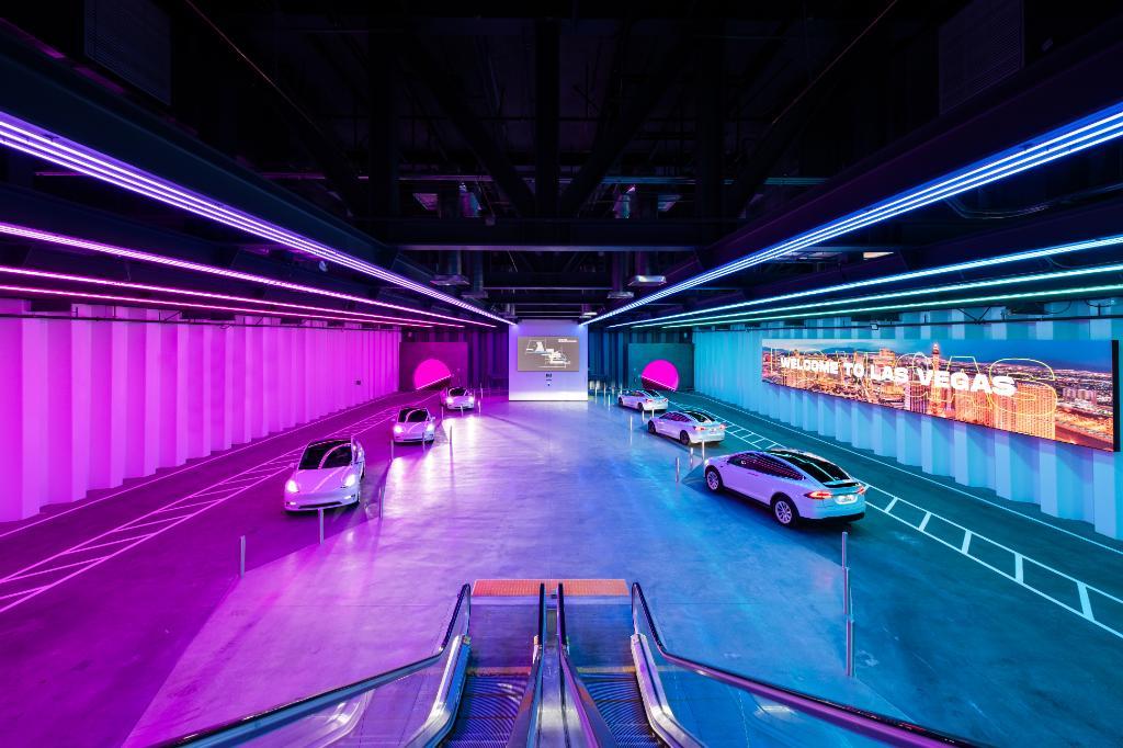 туннель для казино Илона Маска Фото: LVCVA