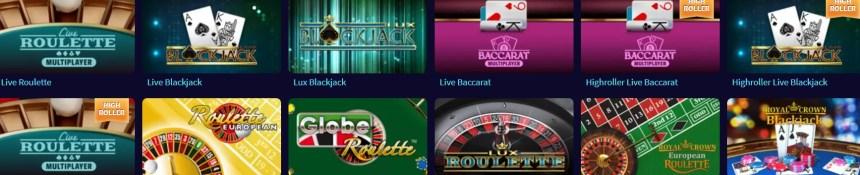 Настольные игры в казино GameTwist