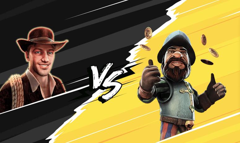 Book of Ra vs Gonzo's Quest: какой автомат выгоднее для игры