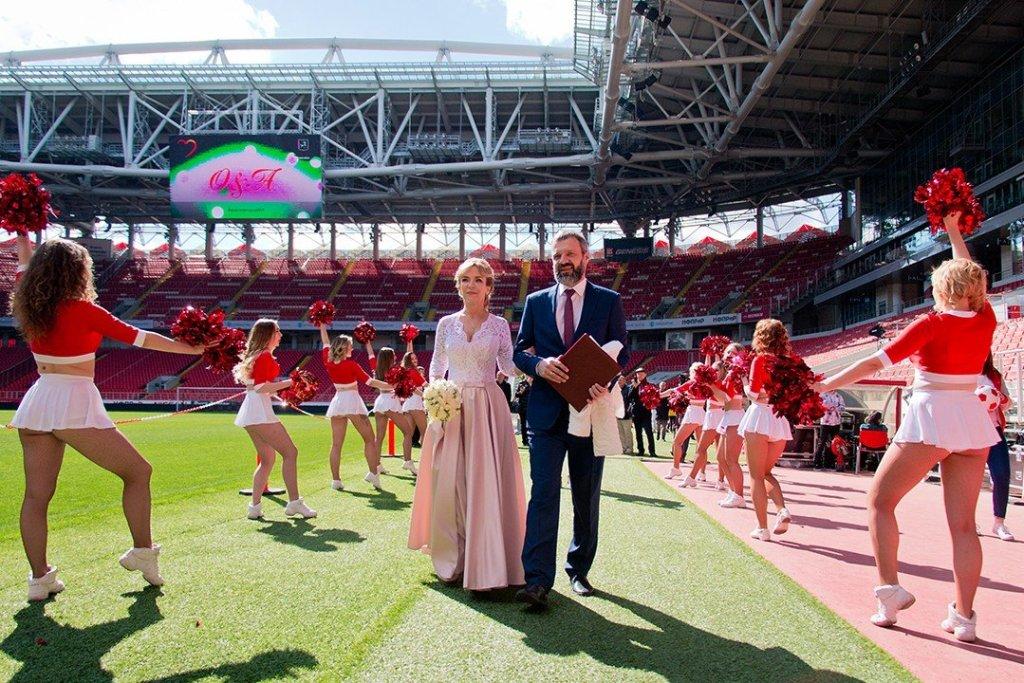 Свадьба мечты. Сколько стоит сказать «да» в штрафной «Спартака»