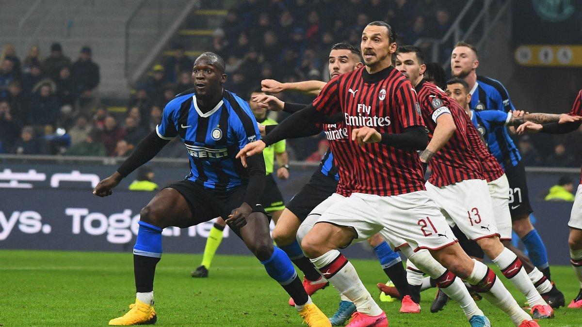 Клиент «Фонбет» поставил 600 тыс. на «Интер» в матче с «Миланом» 21 февраля