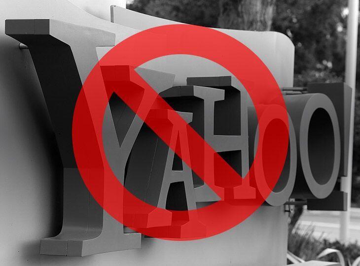 У вересні 2015-го Роскомнагляд заблокував відеоресурс Yahoo