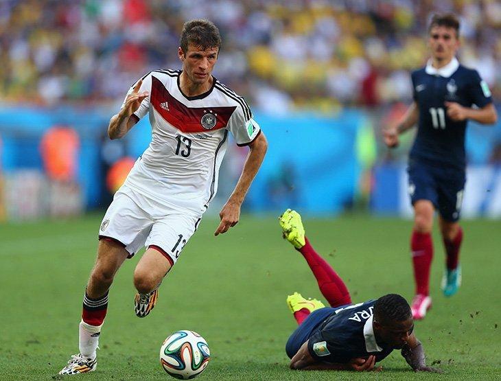 Німеччина – серед фаворитів турніру, Мюллер – у списку бомбардирів