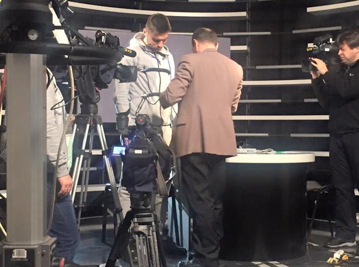 Ігор Калінін проходить тест на детекторі брехні