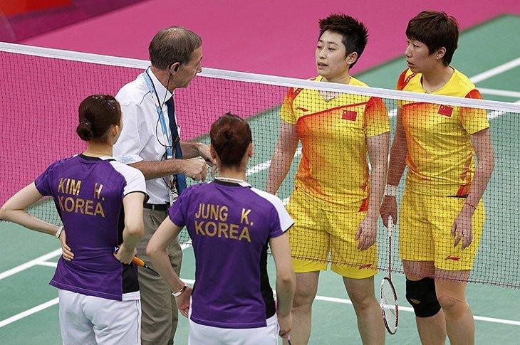 На Олімпіаді-2012 через «договірняки» було дискваліфіковано чотири жіночих пари