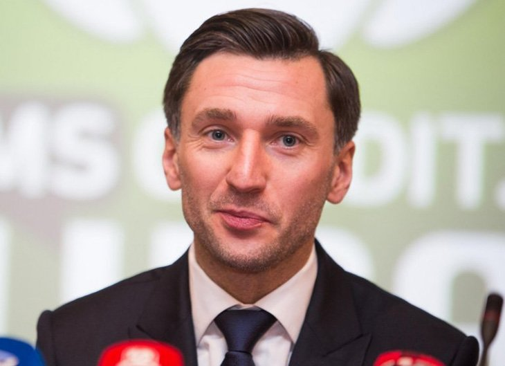 Президент Асоціації футбольних клубів А-ліги Дейвідас Шемберас