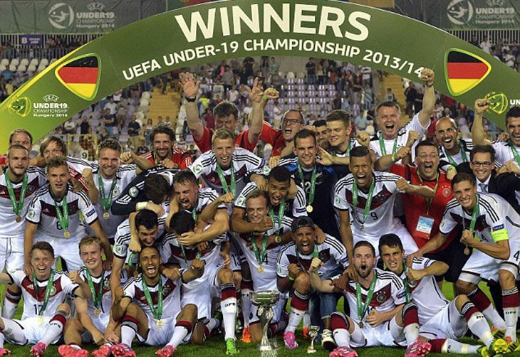 Один з матчів збірної Німеччини U-19 під час тріумфального Євро-2014 мав скандальну історію