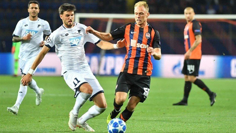 Букмекери оцінили шанси в матчі «Хоффенхайм» – «Шахтар»