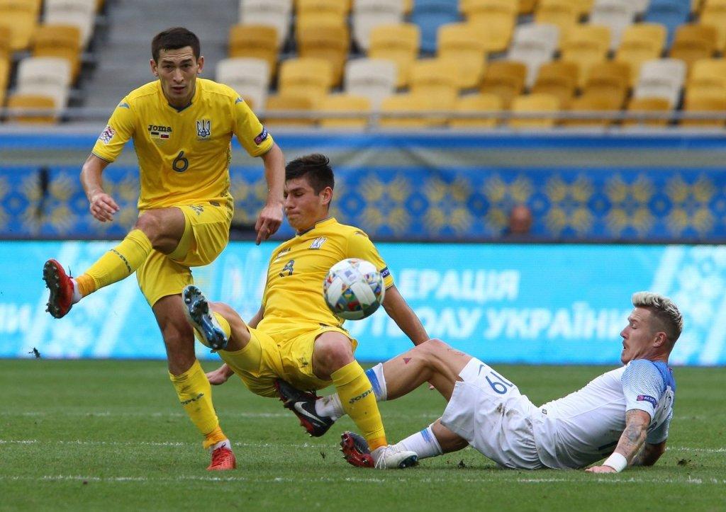Букмекери оцінили шанси в матчі Ліги націй Словаччина - Україна