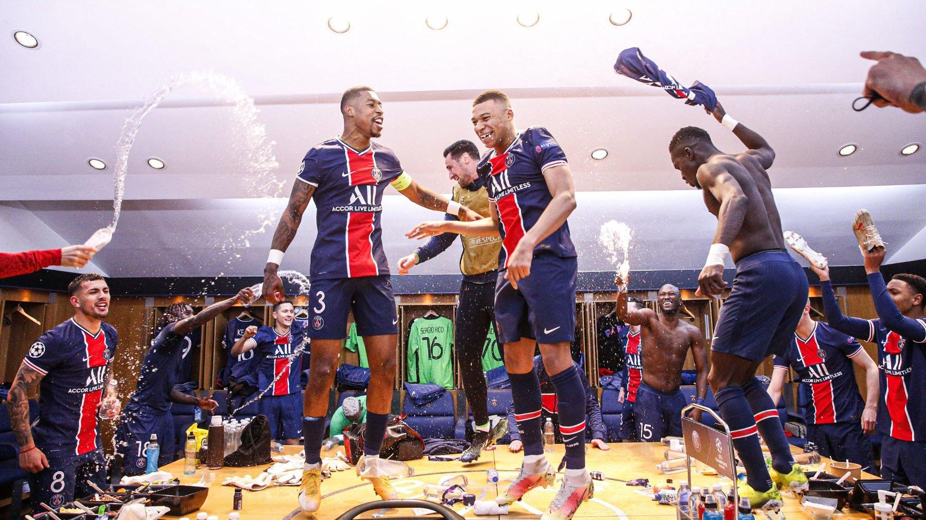 «ПСЖ» святкує тріумф над «Баварією»