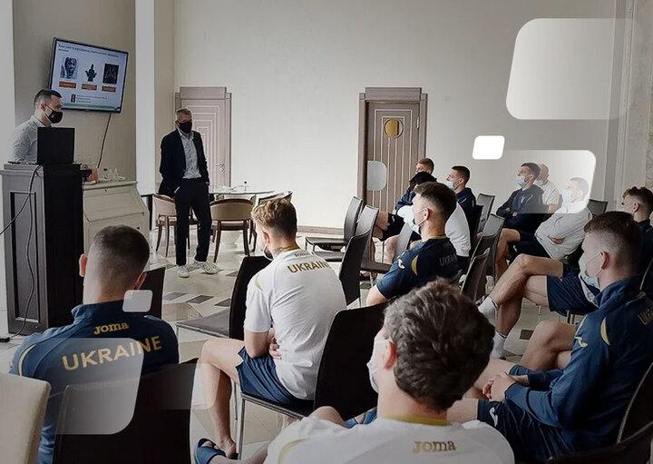 Перед Євро: збірна України прослухала лекцію щодо протидії договірним матчам