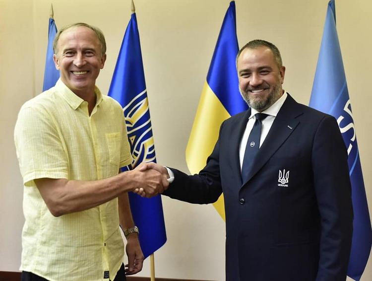Петраков і Павелко / УАФ
