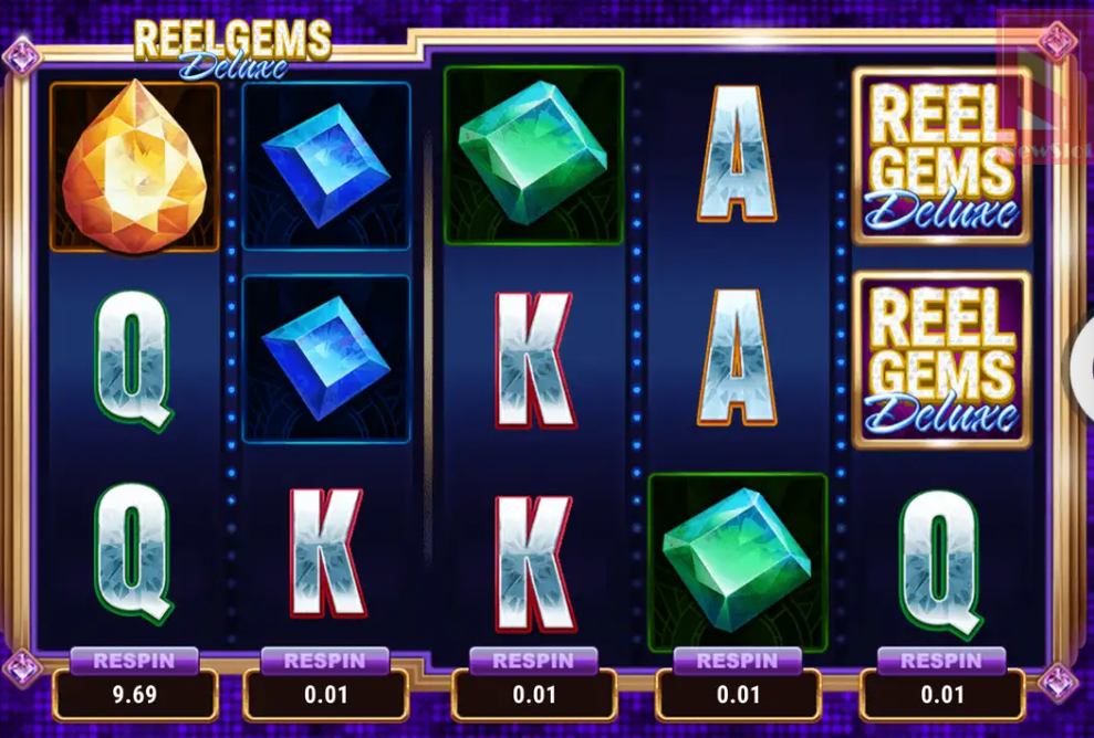 Microgaming презентовал слот Reel Gems Deluxe