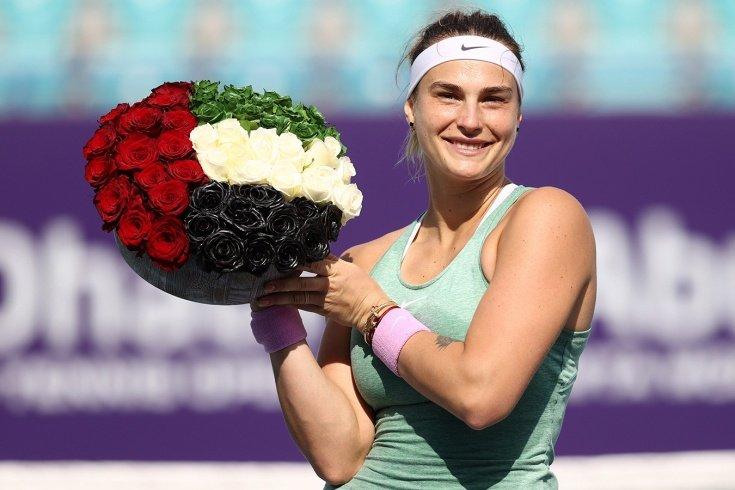 Арина Соболенко выиграла три титула подряд