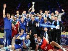 'Зенит' празднует победу в Лиге чемпионов