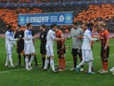 Игроки «Шахтера» и «Динамо Киев»